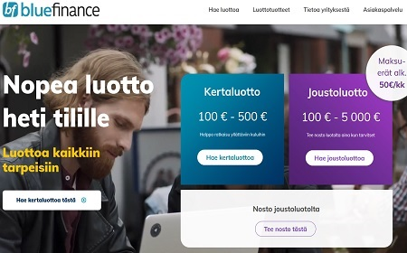 Bluefinance kokemuksia